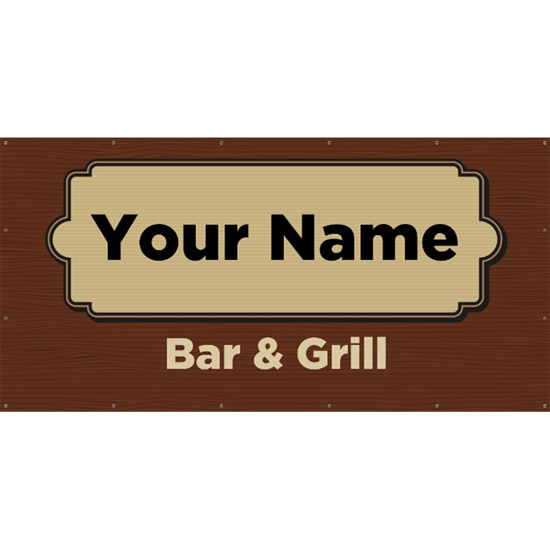 Bar and Grill 1 - 48x96 Banner