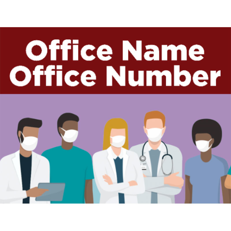 Doctor Office - 18x24 Yard Sign